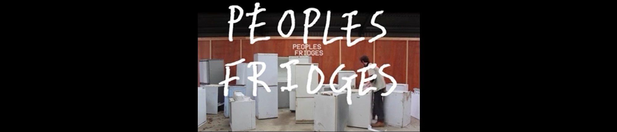 a man and fridges